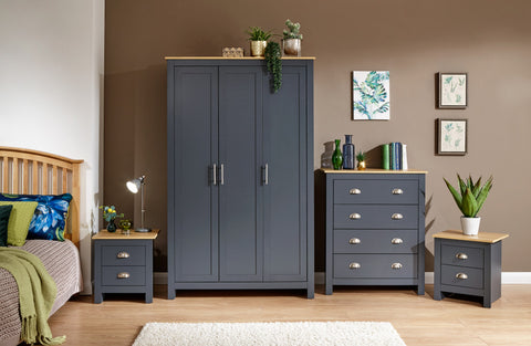 Lancaster 4 Piece Bedroom Furniture Set
