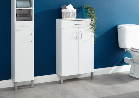 Moritz Two Door & One Drawer Cabinet