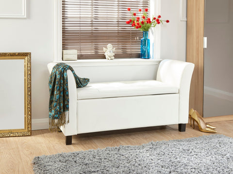 Verona Faux Leather Window Seat