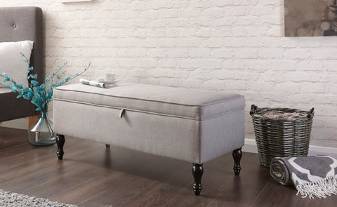 Windsor Cushioned Ottoman Bench