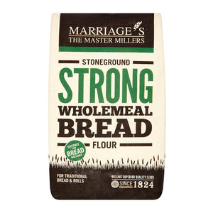 Organic Stoneground Strong Wholemeal Bread Flour