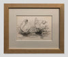 Duck Duo - Framed Pencil Sketch