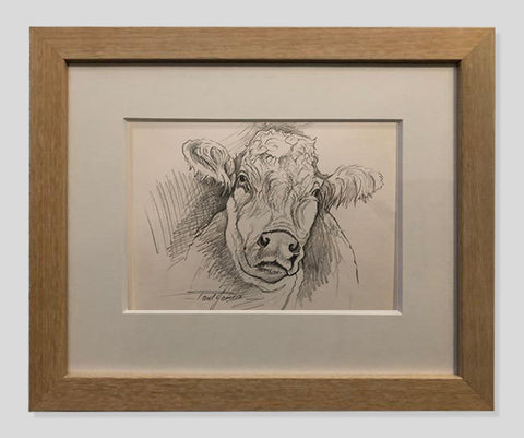 Madge - Framed Pencil Sketch