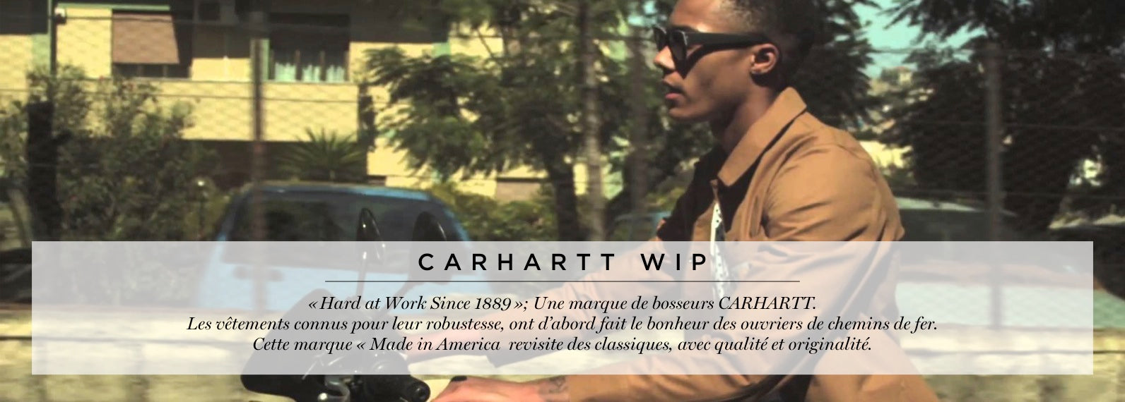 collection carhartt wip homme versailles