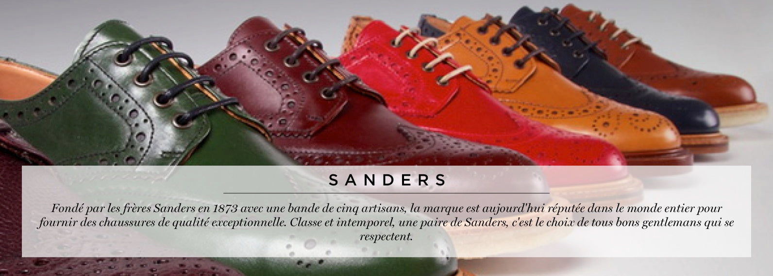 chaussures sanders collection shoes jack versailles