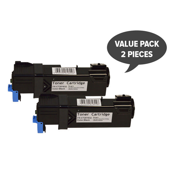 2 x CT201632 CP305 Black Generic Toner Cartridge