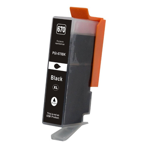 PGI-670XL Black Premium Compatible Inkjet Cartridge