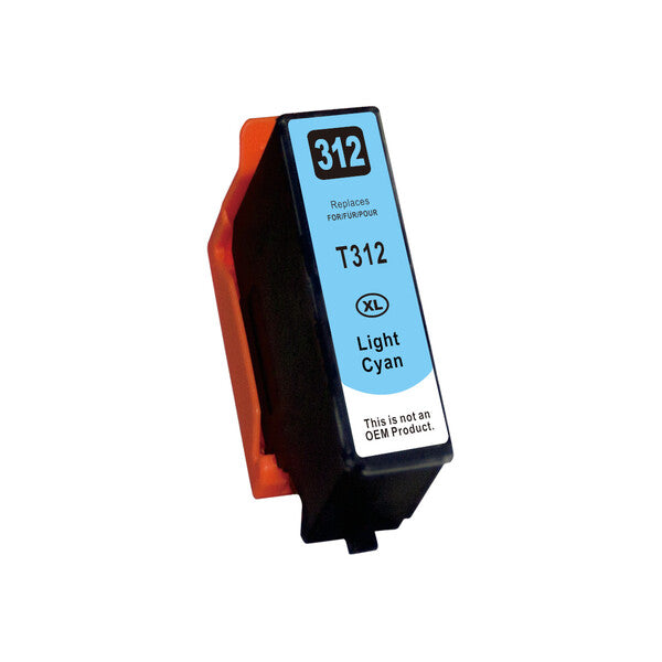312XL Premium Light Cyan Compatible Inkjet Cartridge