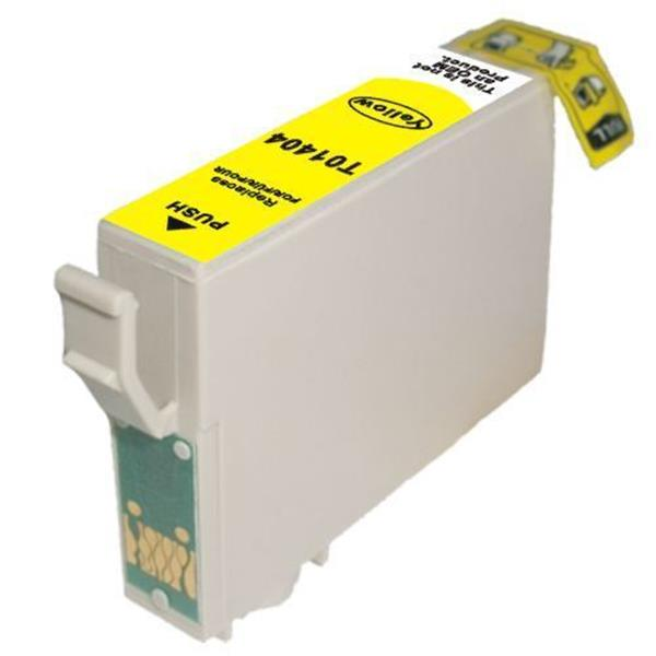 T1404 C13T140492 Yellow Compatible Inkjet Cartridge