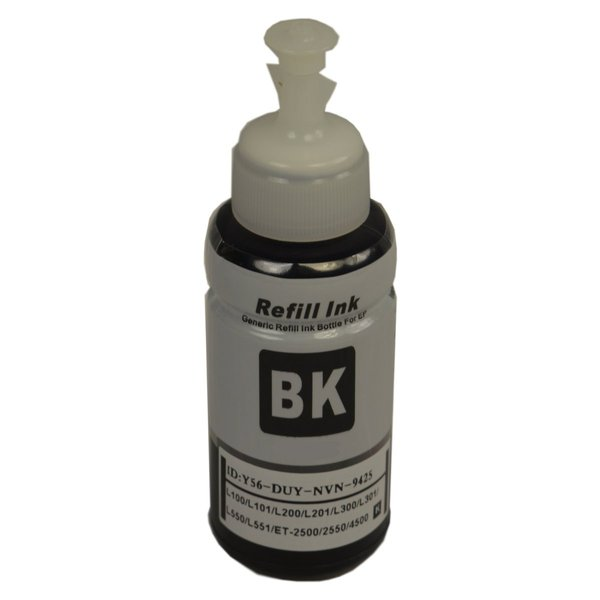 664 Generic Black Refill Bottle 70ml