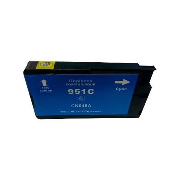 HP 951XL CN046AA Cyan Compatible Cartridge with Chip