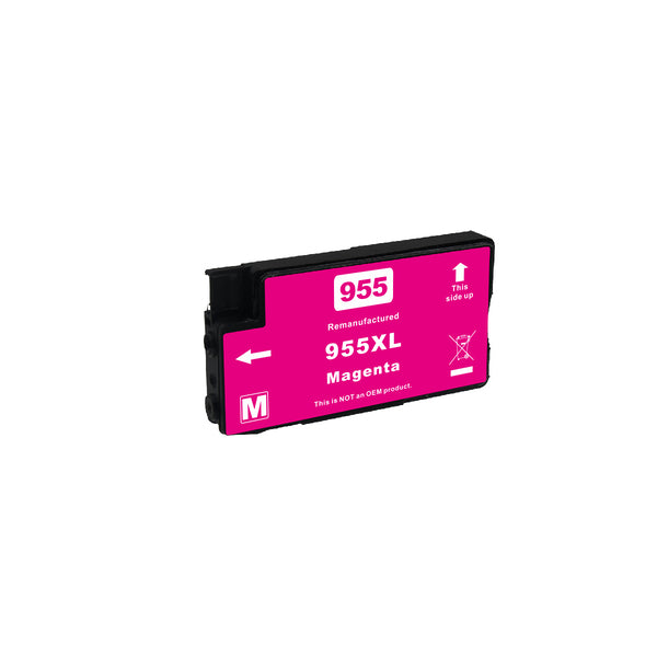 955XL Magenta Premium Remanufactured Inkjet Cartridge (V-A)