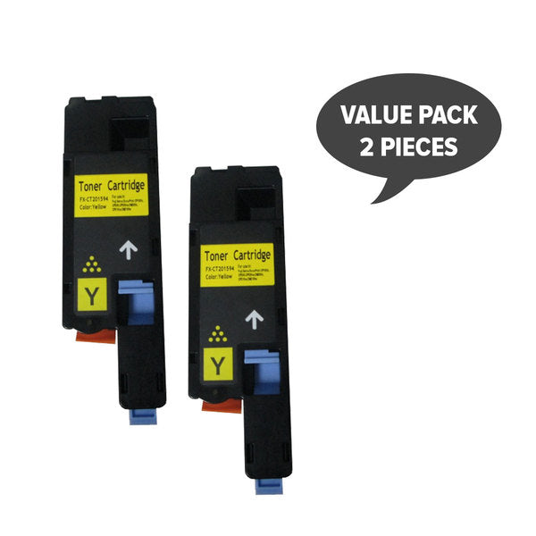 CT201594 CP105/205 Premium Generic Yellow Toner (Set of 2)