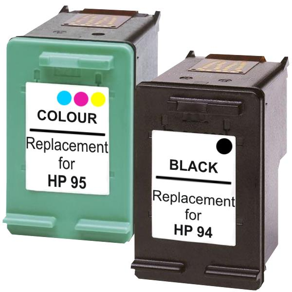 #94 Remanufactured Inkjet Cartridge Set #1  2 Cartridges