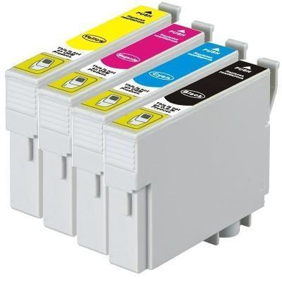 138 Compatible Pigment Series Inkjet Set 4 Cartridges [Boxed Set]