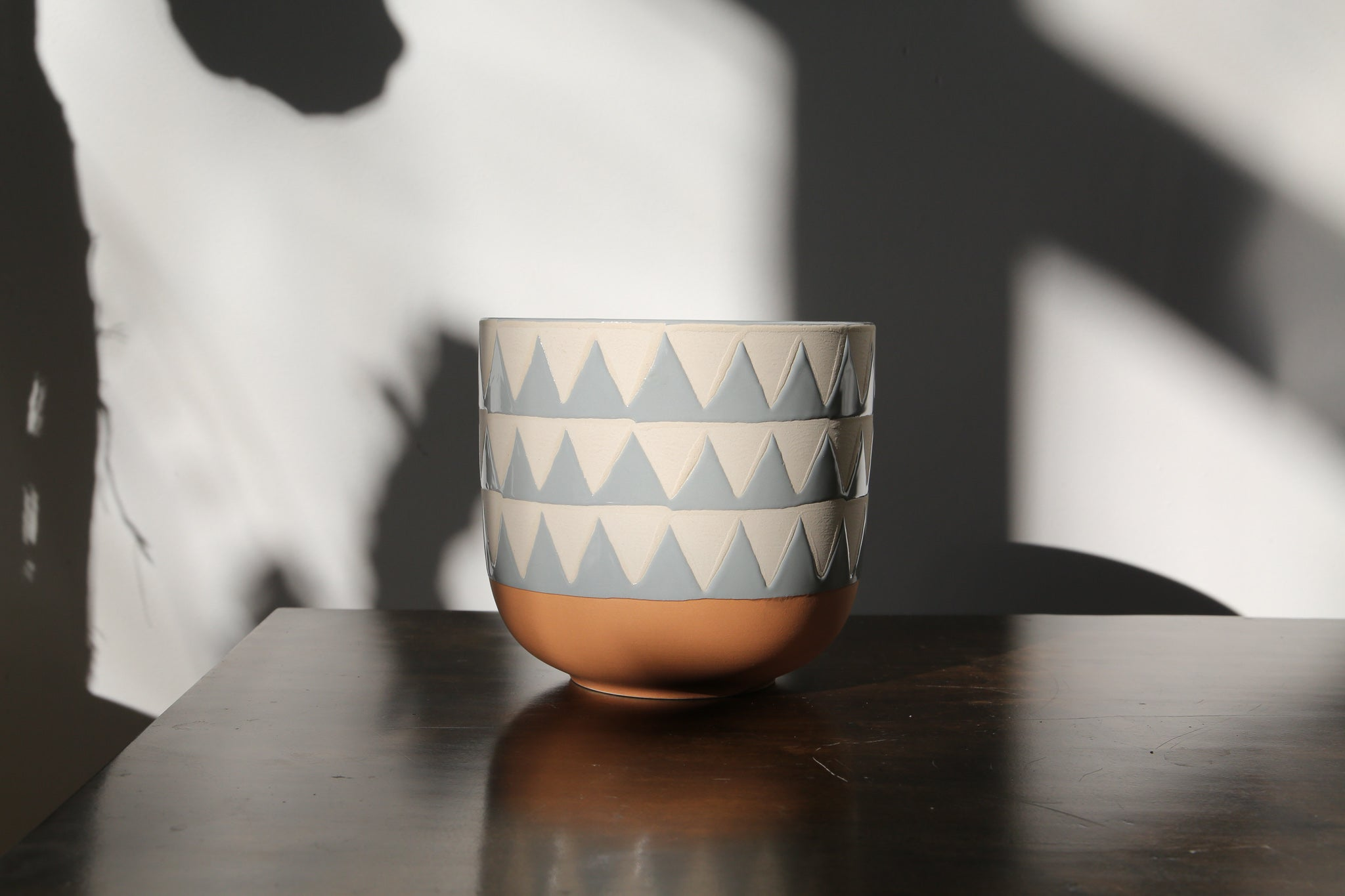 Small Triangles Pot