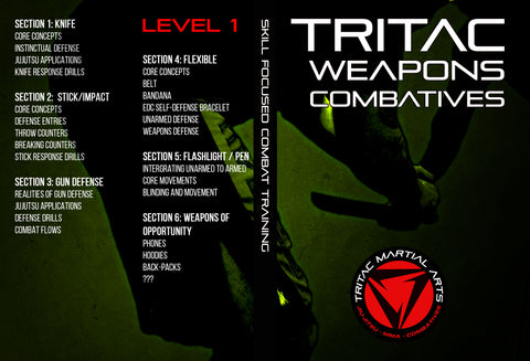TRITAC Weapons Combatives Level 1