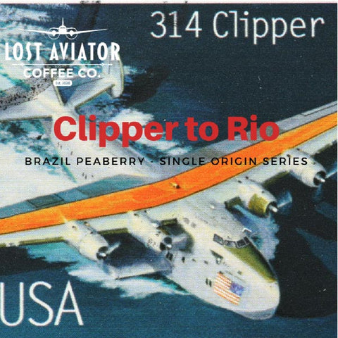 Clipper to Rio Brazil Peaberry Coffee