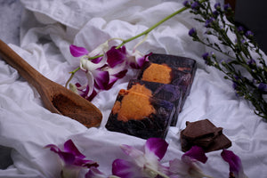 100% Vegetarian Handmade Chocolate Vanilla Soap