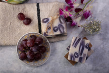Load image into Gallery viewer, 100% Vegetarian Handmade Black Grape Soap