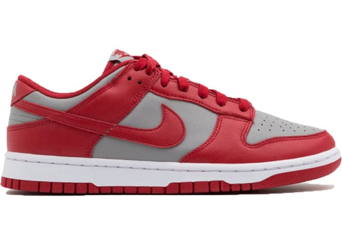 Nike Dunk Low Retro Medium Grey Varsity Red UNLV (2021) - SSNEAKS🐍 - YOU GOT THE HEAT