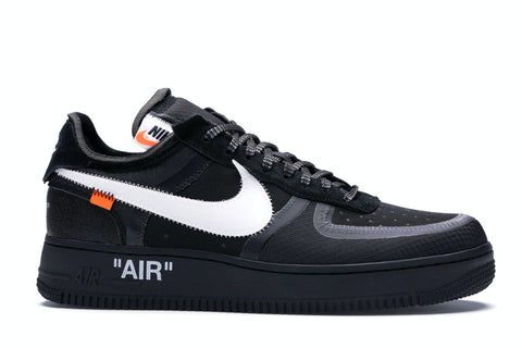 Nike Air Force 1 Low Off White Black White - SSNEAKS🐍 - YOU GOT THE HEAT