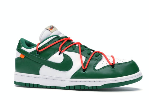 Nike Dunk Low Off White Pine Green