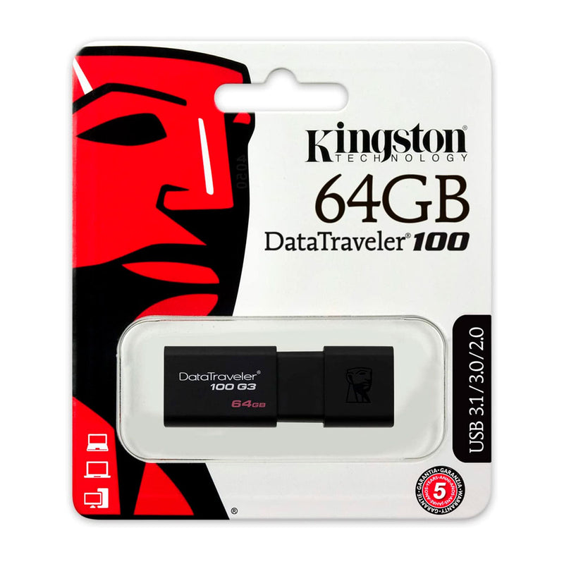 Pen Drive Kingston Datatraveler 50 64gb Usb 3.1/3.0/2.0