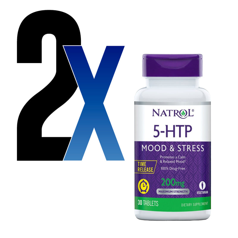 5 HTP Hidroxitriptofano 200mg Natrol 30Tabls