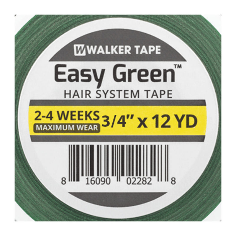 Fita Adesiva Capilar Easy Green 11m x 2cm Walker Tape 3un