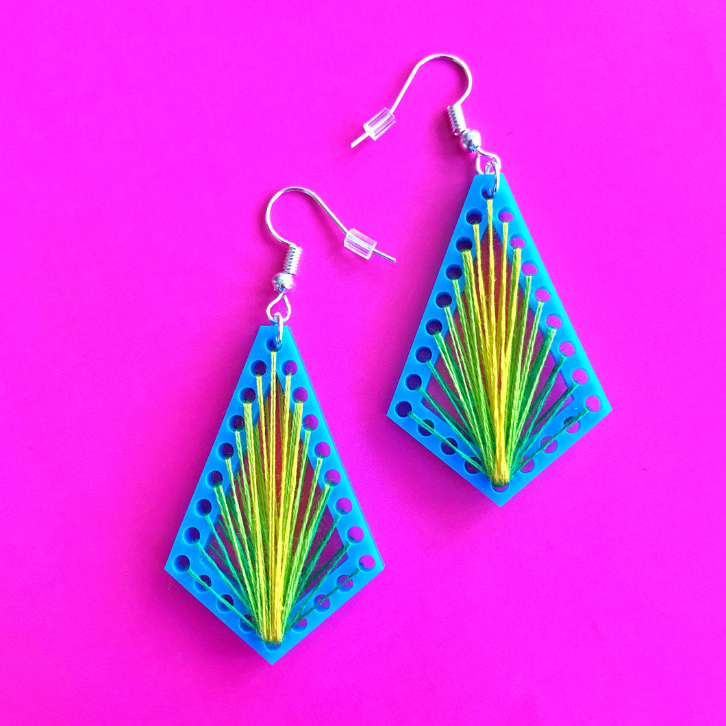 SewYO Geo Earrings