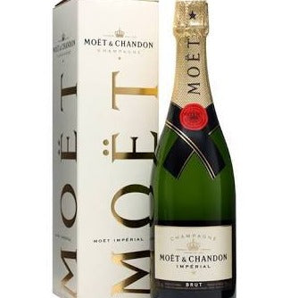 French Champagne, Moet and Chandon or similar