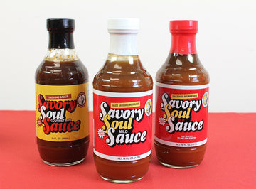 Heritage Fare Savory Soul Sauce (Gourmet, Mild or Hot)