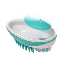 Load image into Gallery viewer, Silicone Dog Bath Comb - pugandhoney.com