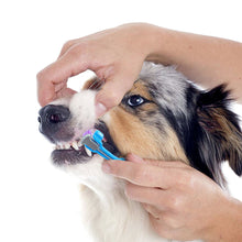 Load image into Gallery viewer, 3-Sided Dog Toothbrush
