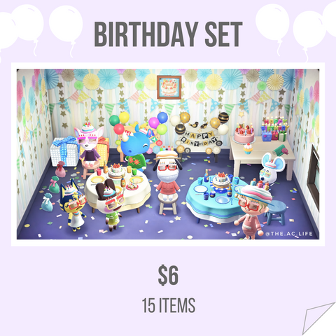 Birthday Set