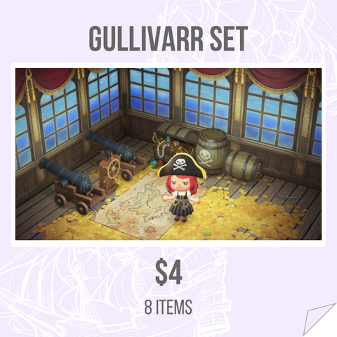 Gulivarrr Pirate Set