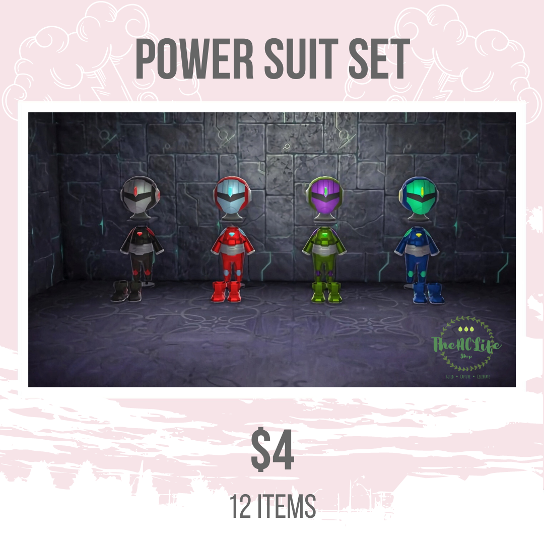 Power Suit Set