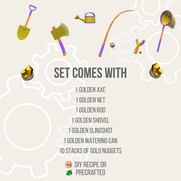 Golden Tools DIY Set