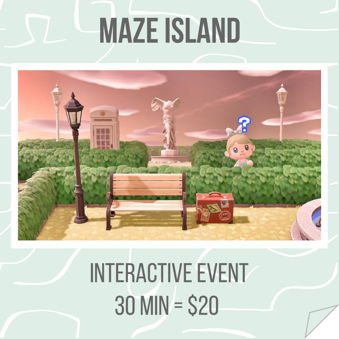 Maze Island - Host your event with us!