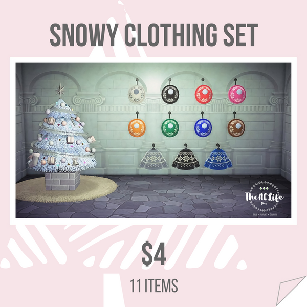 Holiday Clothing Set (Multiple Options)