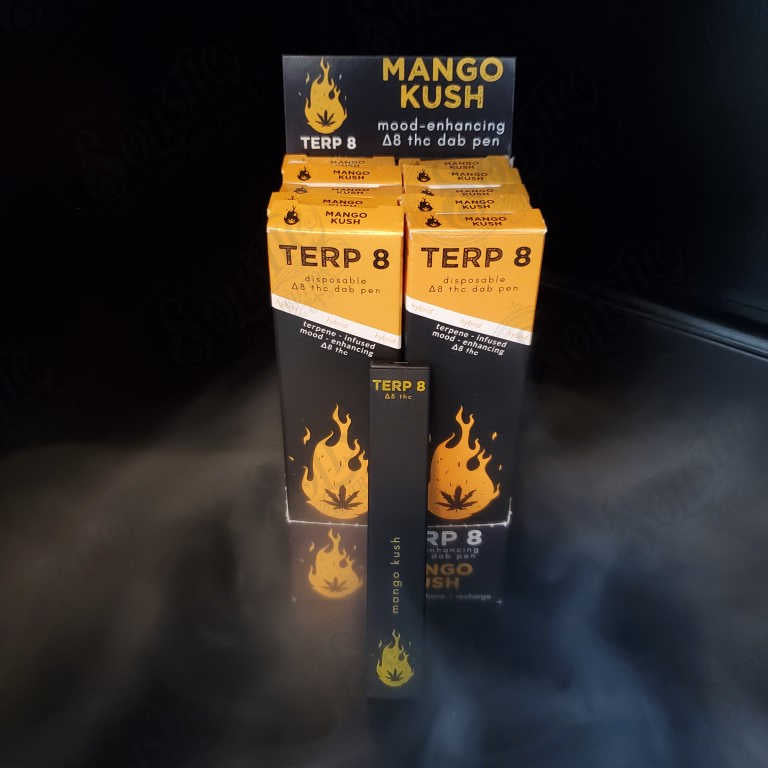 Terp 8 Mango Kush Disposable Delta-8 Dab Pen