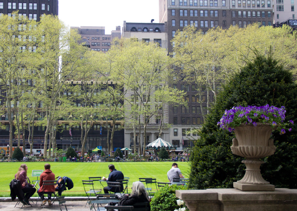 Bryants Park in NYC New York Public Library