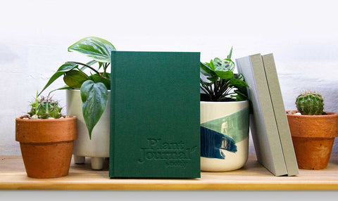 Notely Plant Journal on the shelves at the Plant Lounge Brisbane