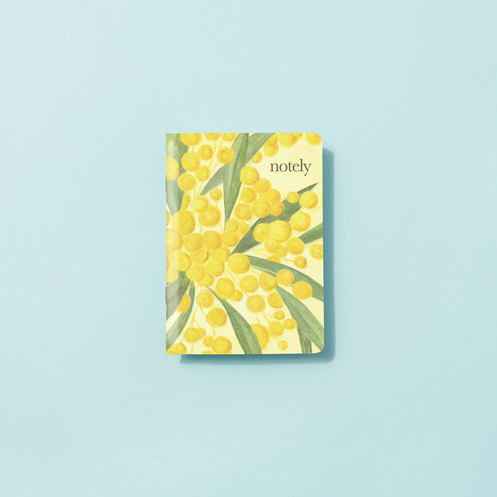 Notely Wattle Illustrated Pocket Notebook