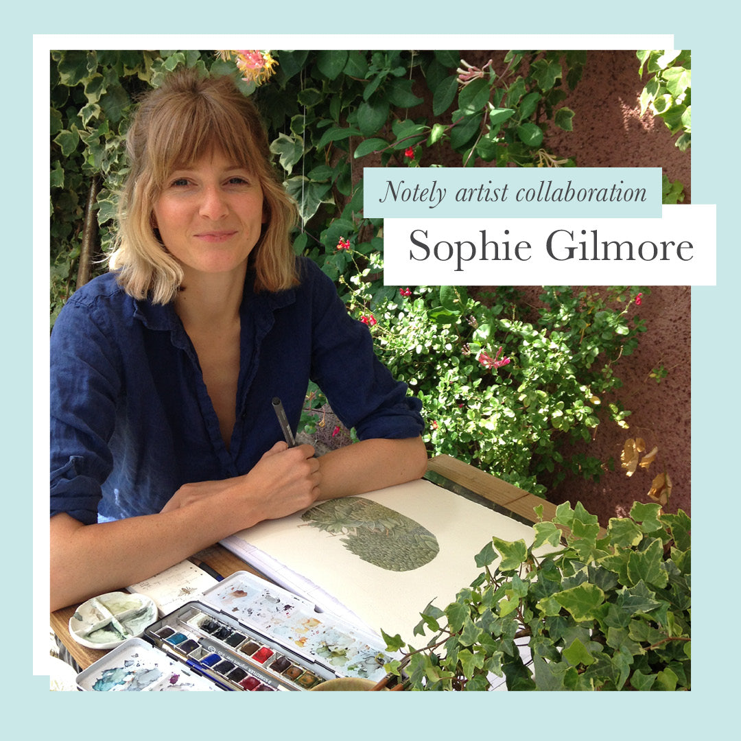 Notely Artist Collaboration with Sophie Gilmore