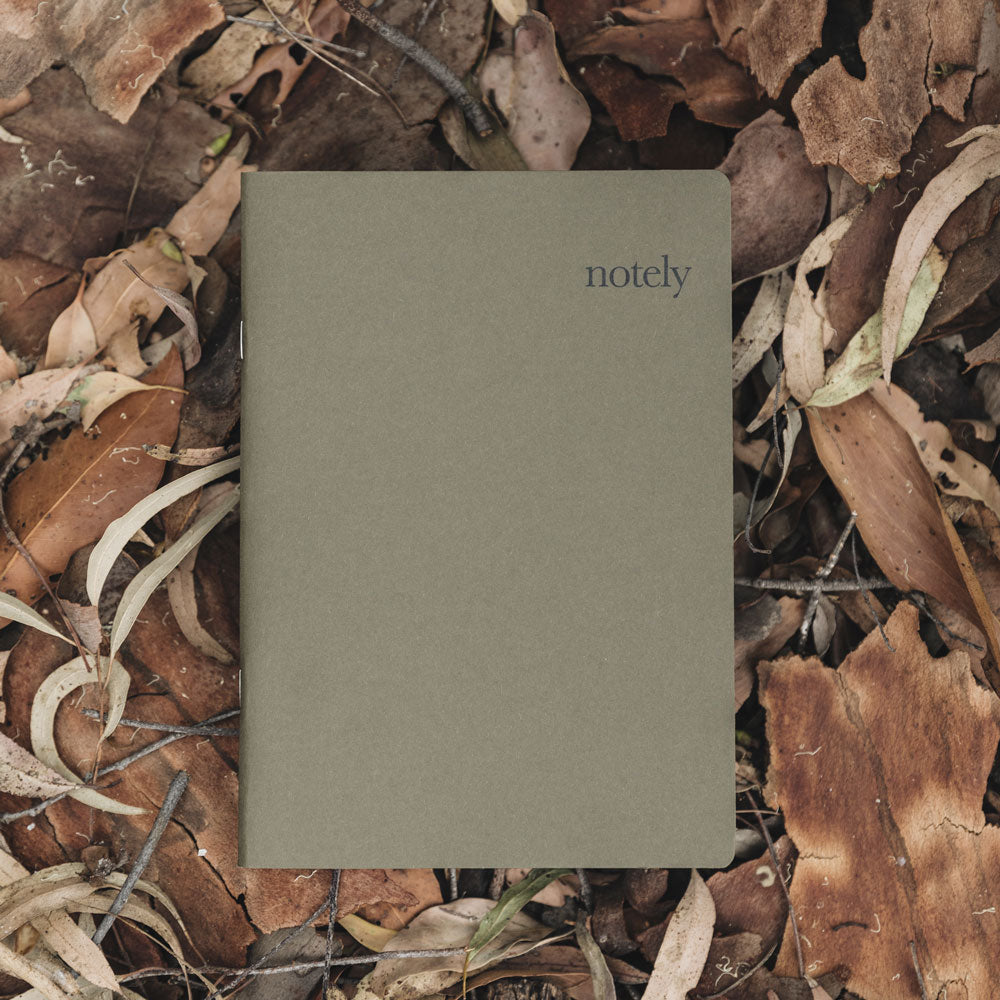 Cup Notes – Mustard & Olive – A5 Notebook (Set of 2) 64p