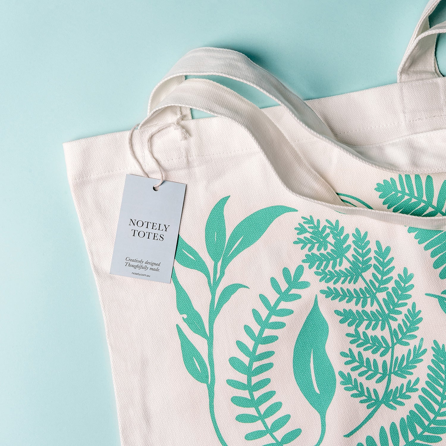Leafy Tote – 100% Cotton Canvas Bag