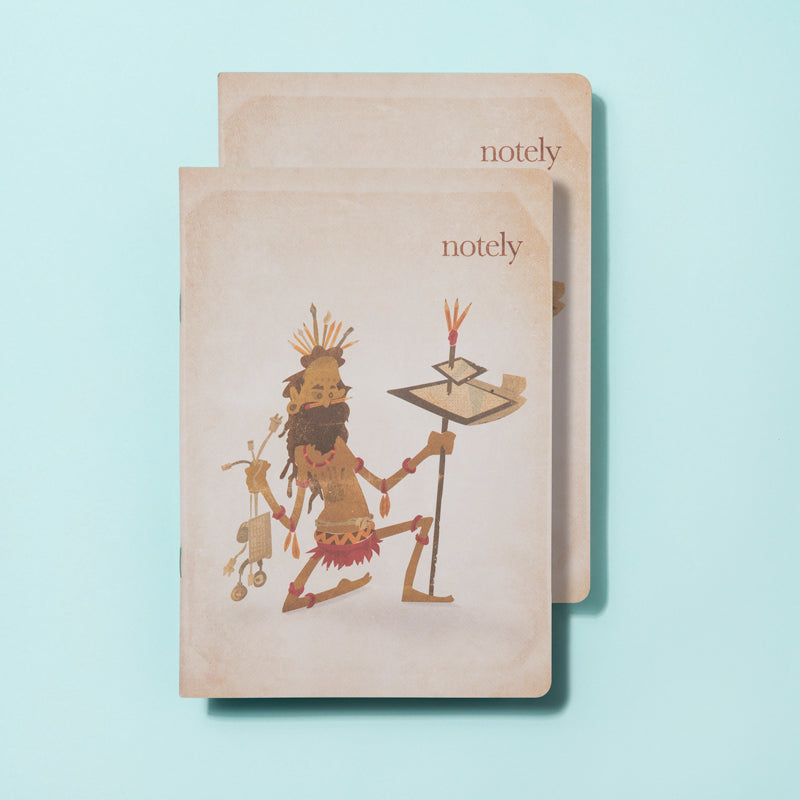 Notely A5 Eco Warrior Notebook Set