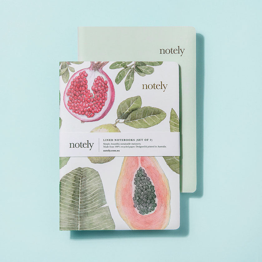 Notely fruity notebook set